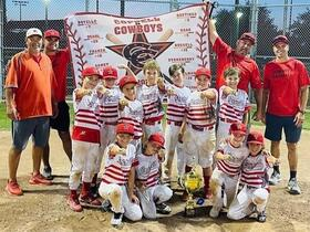 9U Coppell Cowboys Red Team wins  the Rings of Fire tournament
